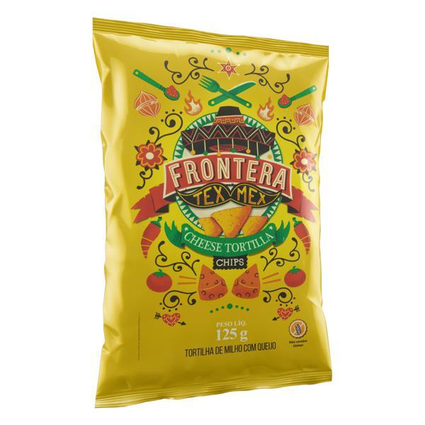Tortilla Chips Queijo 125g FRONTERA