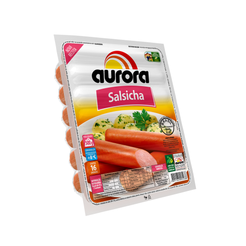 Salsicha Aurora 500G Hot Dog
