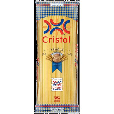 Macarrão Cristal 500G Sêmola Espaguete8