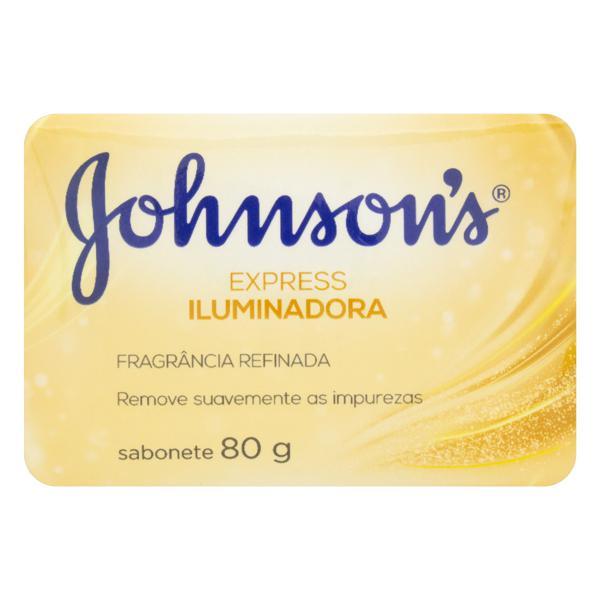 Sabonete em Barra Iluminador Johnson's Express Cartucho 80g