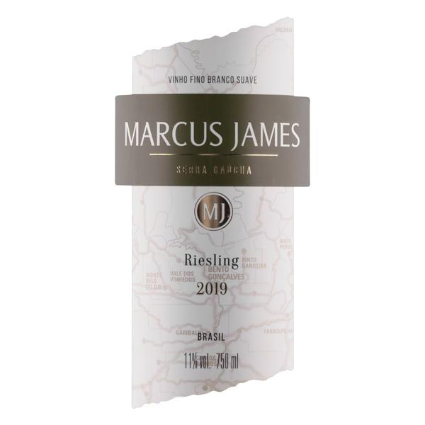Vinho Brasileiro Branco Suave Marcus James Riesling Serra Gaúcha 750ml