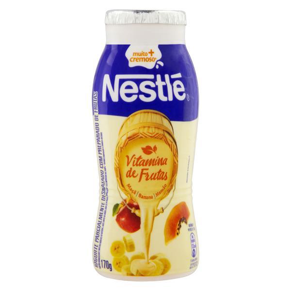 Iogurte Parcialmente Desnatado Vitamina de Frutas Nestlé Frasco 170g