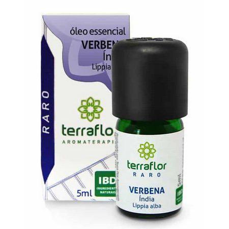 Óleo Essencial Verbena Índia 5ml - TERRA-FLOR