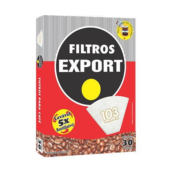Filtros de Papel Reutilizável EXPORT N°103