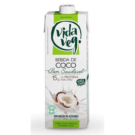 Bebida 1L Vida Veg Coco