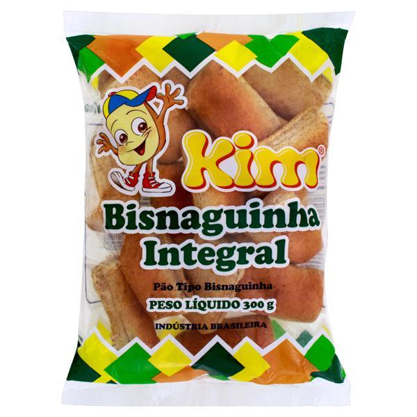 Pão Bisnaguinha Integral Kim Pacote 300g