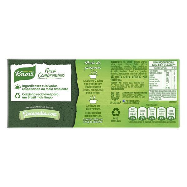 Caldo em Tablete Galinha Knorr Caixa 114g 12 Unidades