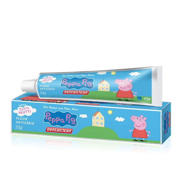 Gel Infantil Dental Clean 50G Peppa Pig