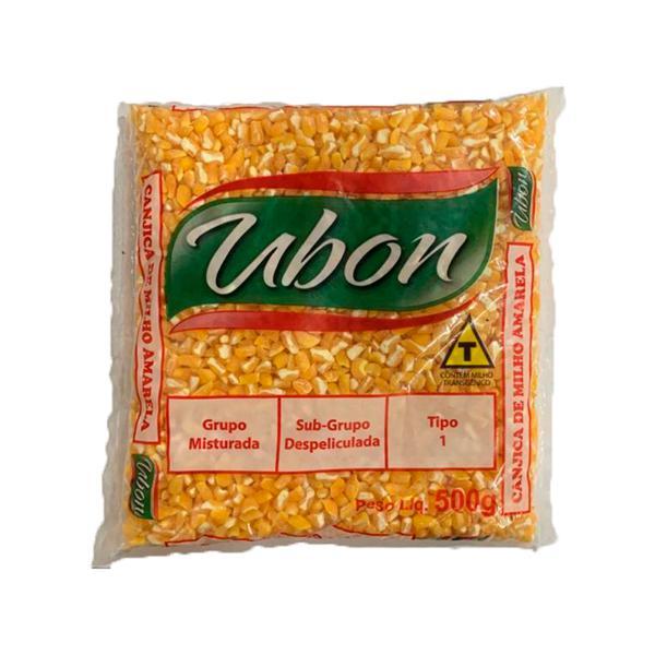 Milho Canjica UBON Amarela 500g