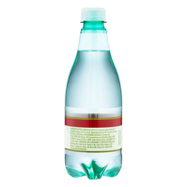 Água Mineral Natural com Gás São Lourenço Garrafa 510ml