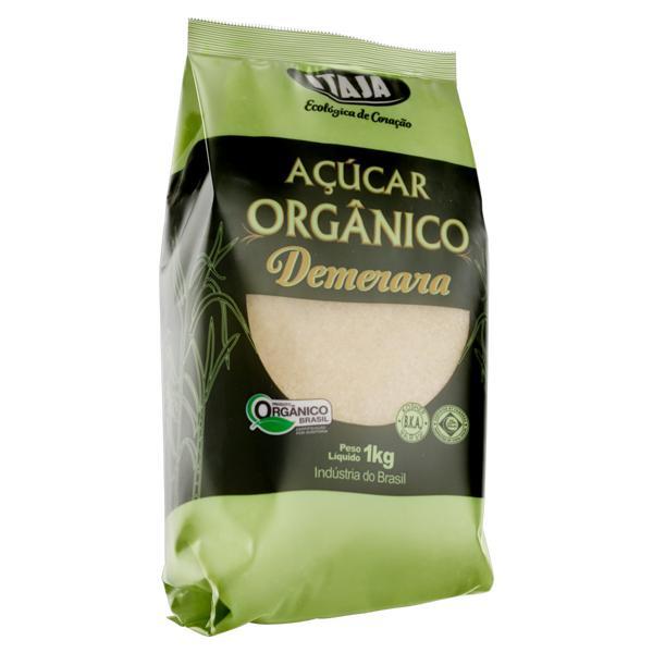 Açúcar Demerara Orgânico Itajá Pacote 1Kg