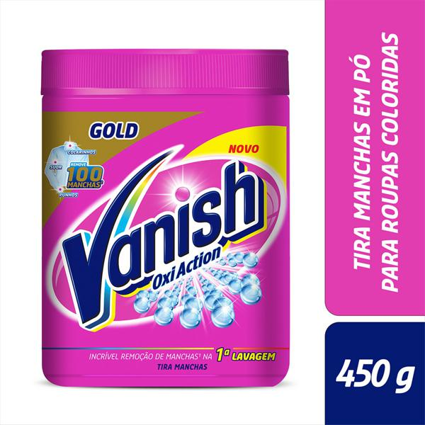 Tira-Manchas em Pó Multiuso Vanish Oxi Action Pote 450g