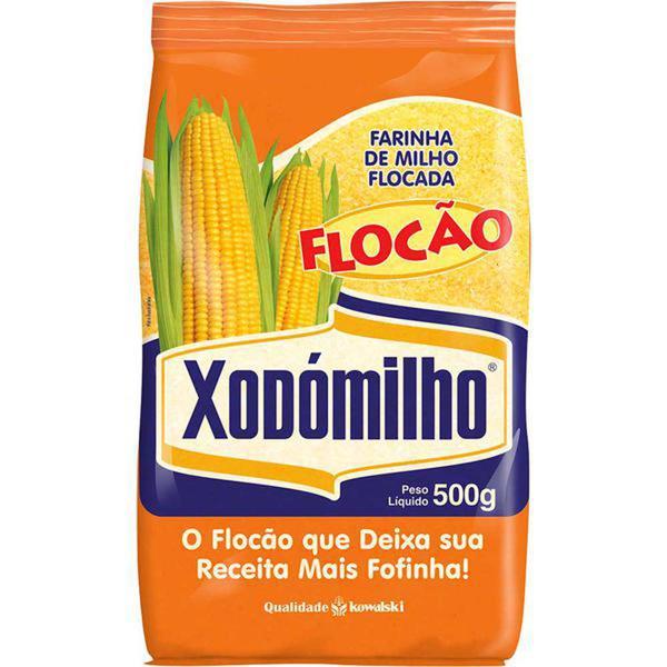 Farinha de Milho Flocão XODOMILHO 500g