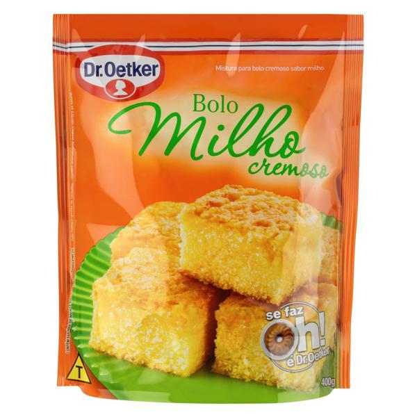 Mistura para Bolo Cremoso Milho Dr. Oetker Sachê 400g