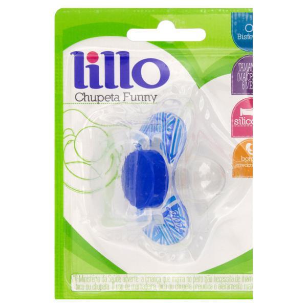 Chupeta Azul Funny Lillo nº 2