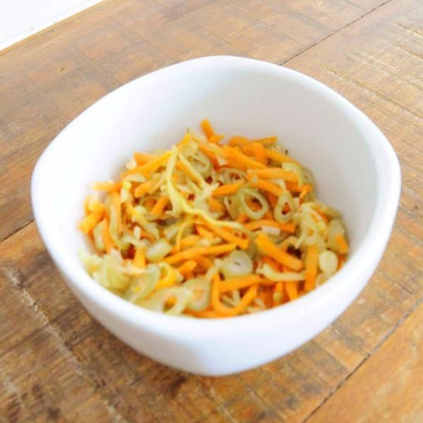Legumes à Julienne - 100g