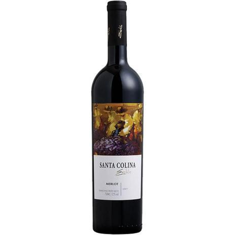 Vinho Santa Colina Merlot Tinto Seco 750Ml