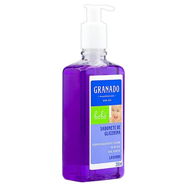 Sabonete Líquido de Glicerina Lavanda Granado Bebê Frasco 250ml