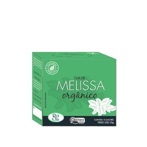 Chá de Melissa Orgânico 10 Sachês de 10g CAMPO VERDE
