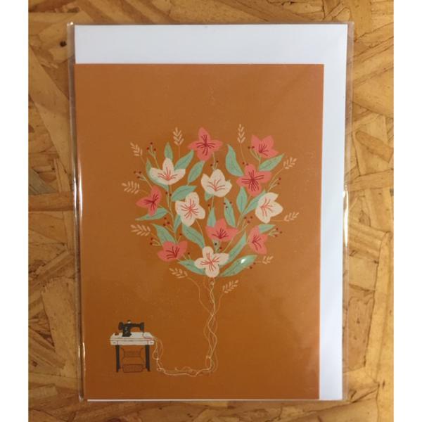 Cartão Flores - Anna Cunha