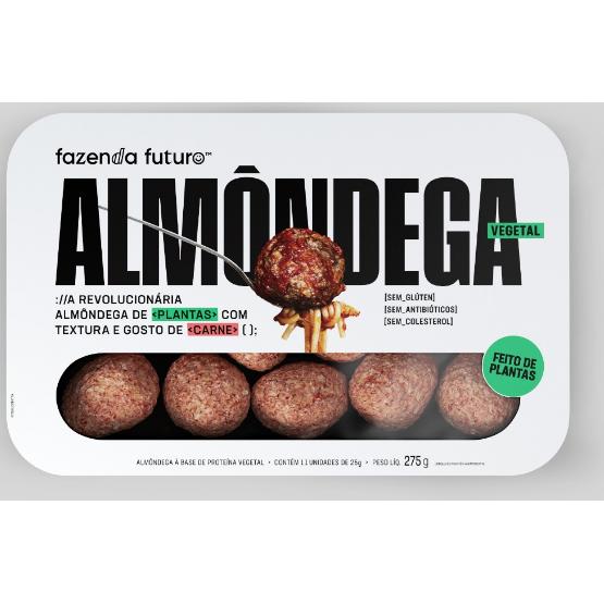 Almondega Fazenda Futuro 275G Vegetal