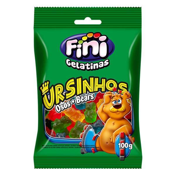 Bala Fini 100G Ursinhos