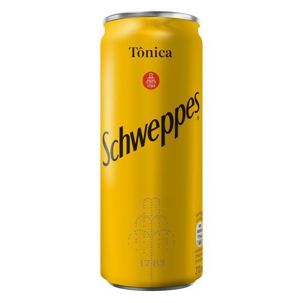 Água Tônica Schweppes Lata 310ml