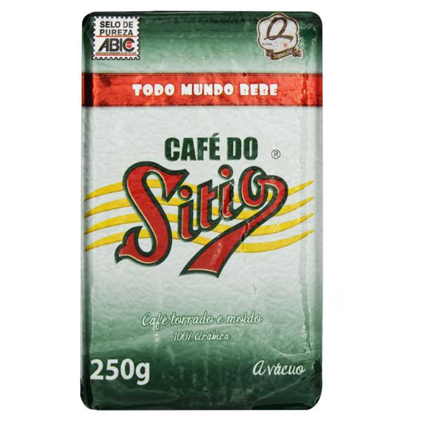 Café Torrado e Moído Superior a Vácuo Café do Sítio Pacote 250g