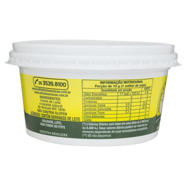 Manteiga sem Sal Aviação Pote 200g