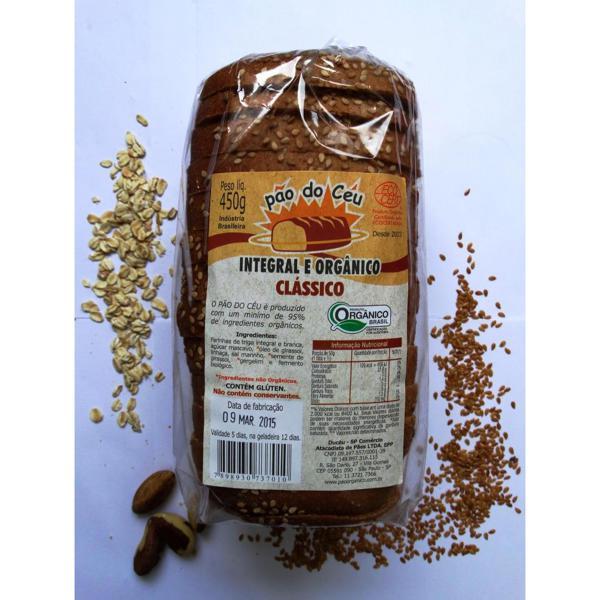 Pão Integral Clássico Orgânico (450g)