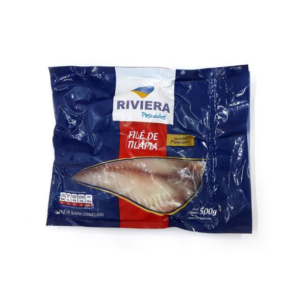 Filé de Tilapia RIVIERA 500g