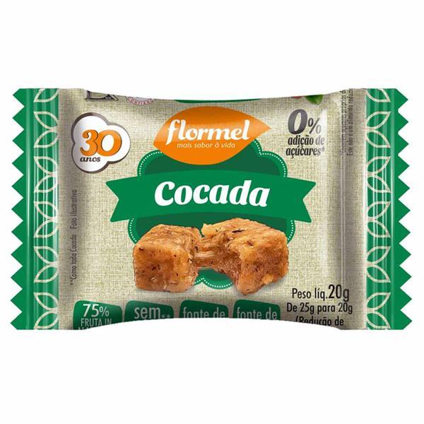 Cocada Zero Açúcar 20g FLORMEL