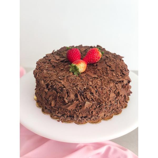 Torta Mista com Morango