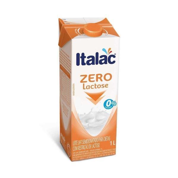 Leite Zero Lactose ITALAC 1L