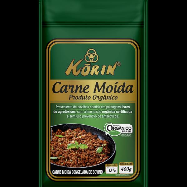 Carne Moída Bovino Orgânica KORIN 400g