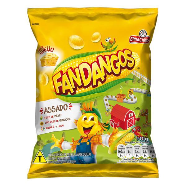 Salgadinho de Milho Queijo Elma Chips Fandangos Pacote 140g