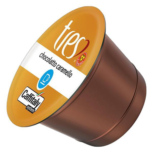 Chocolate Quente em Cápsula Chocolatto Tres Caixa 105g 10 Unidades
