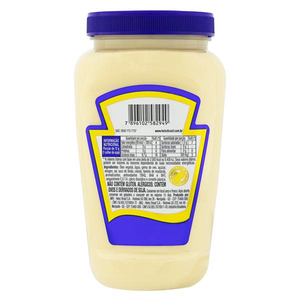 Maionese Heinz Pote 400g