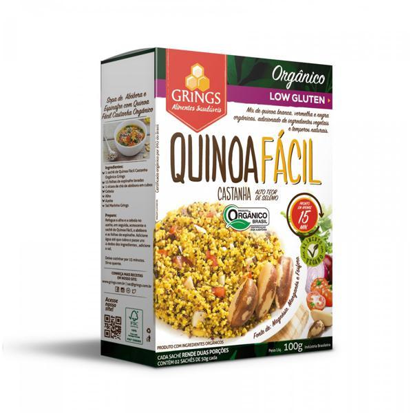 Quinoa Fácil Castanha Grings 100g