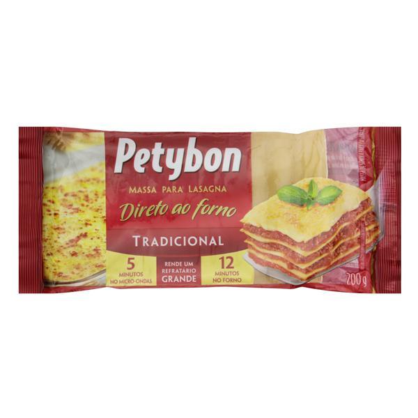 Massa para Lasanha Tradicional Petybon Pacote 200g