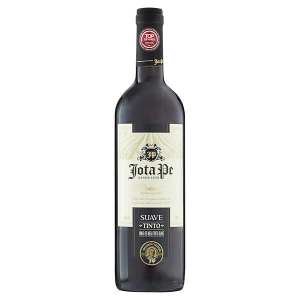 Vinho Brasileiro Tinto Suave Jota Pe Serra Gaúcha Garrafa 750ml