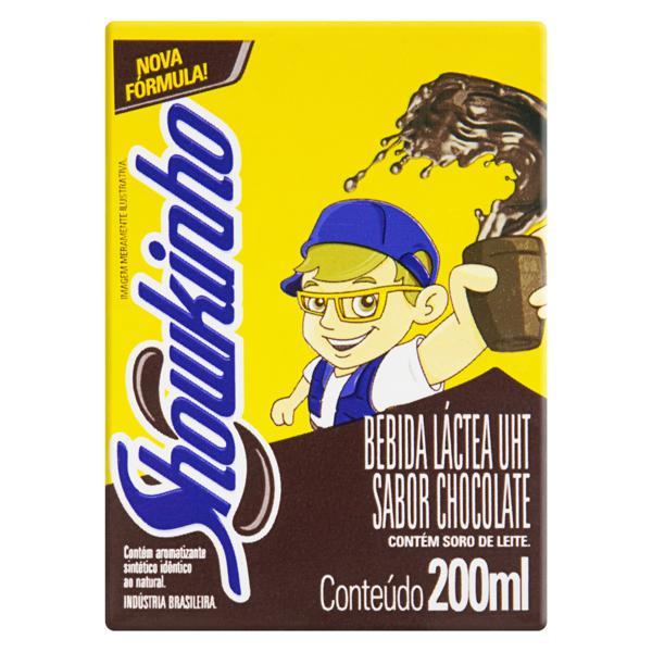 Bebida Láctea UHT Chocolate Showkinho Caixa 200ml