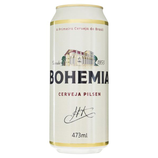 Cerveja Pilsen Bohemia Lata 473ml