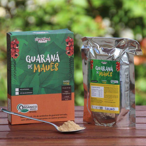 Guaraná em pó 125g - Maués