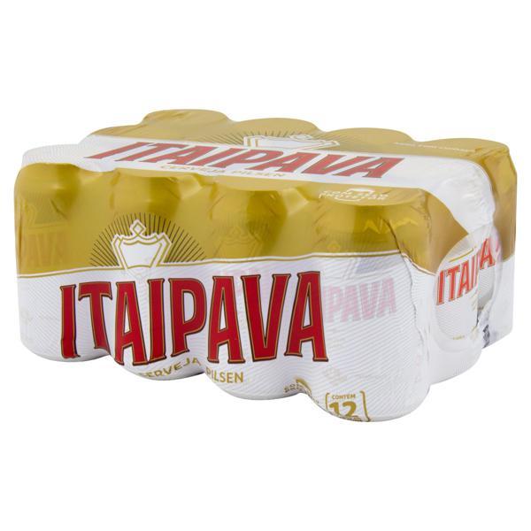Pack Cerveja Pilsen Itaipava Lata 12 Unidades 350ml Cada