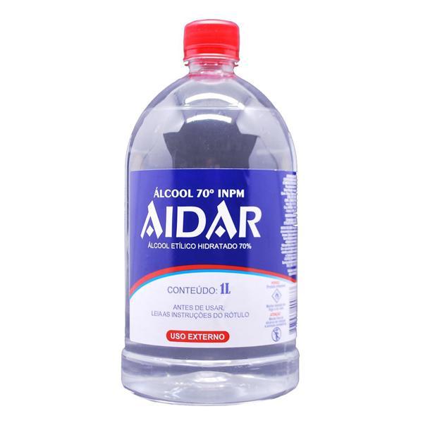 ALCOOL ETíLICO 70º AIDAR 1L