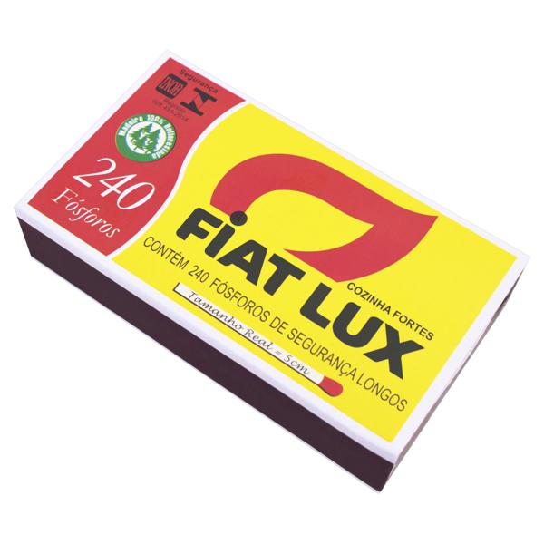Fósforo de Segurança Longo Fiat Lux 240 Unidades