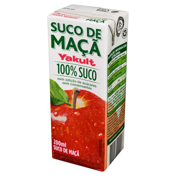 Suco Maçã Yakult Caixa 200ml
