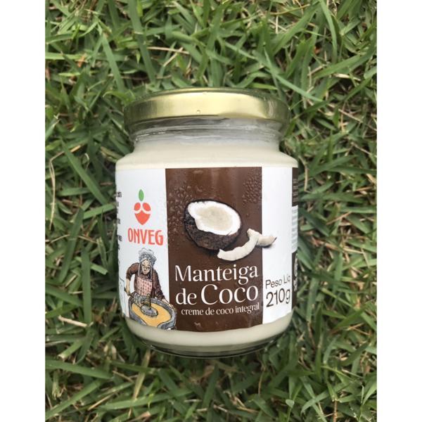 Manteiga de coco (210g)