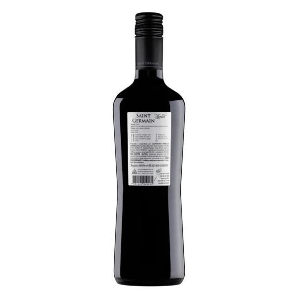 Vinho Brasileiro Tinto Meio Seco Saint Germain Merlot Serra Gaúcha Garrafa 750ml